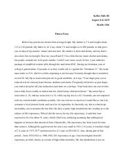 Persuasive Essay Topics High School Students  Pages Fitness Essaypdf Example Of A Essay Paper also Examples Of Thesis Statements For Essays Fitness Essaydocx  Fitness Essay During The Process Of This  Essay About Healthy Lifestyle