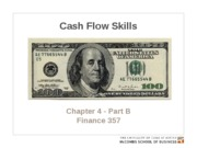 Chapter 4 - Part B. Cash flow skills EXPANDED POSTED