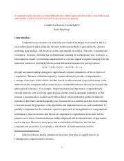 handbook of economics article final version.doc