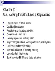 Chapter 12-Banking Industry-13(1).ppt