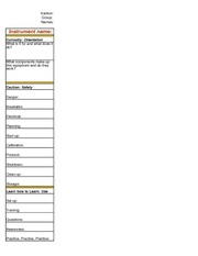 SALI  worksheet