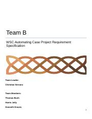 CIS470RequirementsSpecification_TeamB