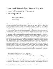 Love and Knowledge_ Recovering the Heart of Learning Through Contemplation .pdf