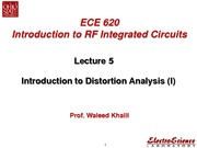 Lect5_Introduction to Distortion Analysis(I)