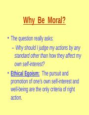 1stclassescritthinkWhy_Be_Moral.ppt