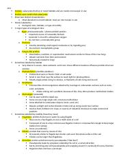 Protist and Fungi cheat sheet