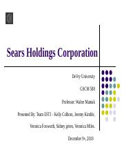Sears Holdings Corporation.pptx