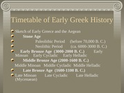 TIMETABLE+OF+GREEK+HISTORY+and+archaeology