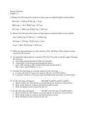 CHEM 114 - Chap 12__Practice Problems