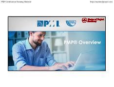 1-PMP-Overview