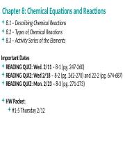 Notes-Ch.8-Chemical Reactions (2)