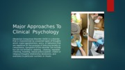 PSY 480 new Week 2 Individual Assignment Major Approaches Psychology Ppt