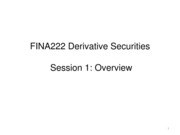 Derivatives09-0 - Overview
