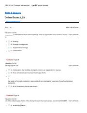 Ashworth College _ Strategic Managemet Exam 2 95% BU470.S.4