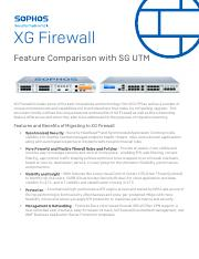 XG Firewall Feature Comparison with SG UTM.pdf