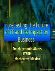 Forecasting the future of IT