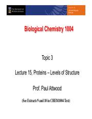 Lecture 15 Proteins - Levels of structure.pdf