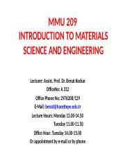 Introduction-and Syllabus MMU209