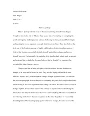 Apology Paper
