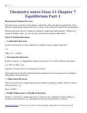 Chemistry Notes Class 11 Chapter 5 States of Matter - 1|Page