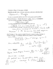 2010 Fall Exam #3 Solutions