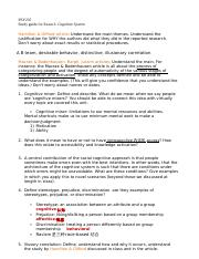 PSY 235 cognitive system study guide.docx