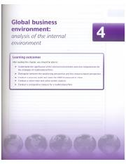 Global Strategic Management-Frynas and Mellahi-2nd edition-Chapter 4