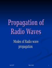 CSC 306 - 4 propagation of Radio waves