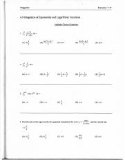 4.9 problems(Integration of Exponential and Logarthmic Functions).pdf