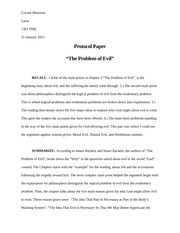 Protocol Paper #1- Crystal Morrison