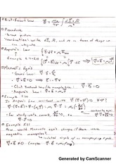 Ampere equation and Notes