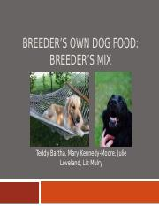 Breeders Own Dog Food 830.pptx