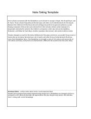 note taking template 5.docx