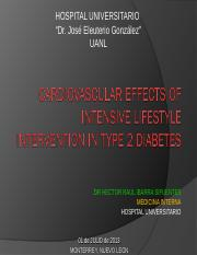 CV Effects of Intensive Lifestyle Intervencion in DM2.ppt