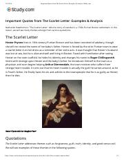 Important Quotes from The Scarlet Letter- Examples & Analysis | Study.com.pdf