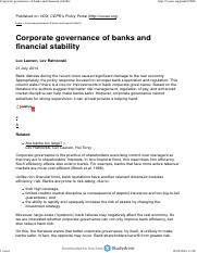 Task 9 literatureCorporate governance of banks and financial stability.pdf