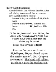2010 Tax Bill Example