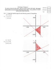 Math 1324 Exam 2 Solutions