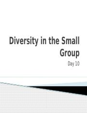 Group Communication in Small Groups