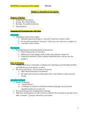 Psycology- Chapter 4 Notes .docx