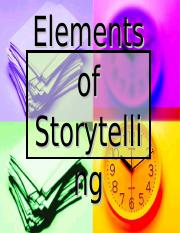 Carolyn Castillo - Elements of Storytelling - Powerpoint.ppt