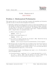 HW0 Solutions