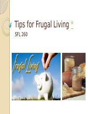 Tips for Frugal and Provident Living (11-16-15).pptx