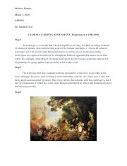 GLOBAL LEARNING ASSIGNMENT 2- Exploring Art ARH 2000.pdf