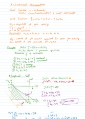 Optimization Notes