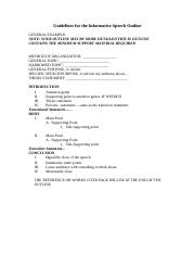 Guidelines for the Informative Speech Outline 2014 (3)