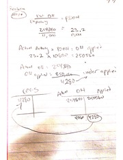 Chapter 7 Problems with Answers, Managerial Accounting
