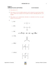 Chapter 4 Additional Problems_ Answers_2012 updated Oct 3
