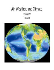 Topic 5- (Ch17)- ENS201 Air,weather, & climate.ppt