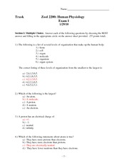 h phys spring '10--exam 1--answer key